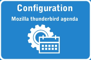 Tutoriel Mozilla Thunderbird agenda